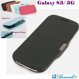 Cell Phone Case Samsung Galaxy S3 3G Cell Phone Flip Cover Faux
