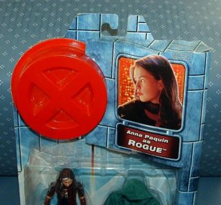 OF MARVEL X MEN THE MOVIE ROGUE (ANNA PAQUIN) FIGURES   TOY BIZ   2000
