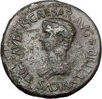 55AD. Bronze Sestertius. Perinthus. c.53AD Britannicus/Mars Rare