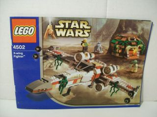 Lego 4502 Star Wars X wing Fighter w Instructions