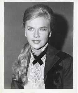 Anne Francis Orig Still Glamour Portrait from TV Shot The Virginian