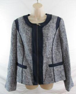 Anne Klein New York Womens Blazer Jacket Retail $450