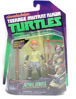 Teenage Mutant Ninja Turtles TMNT April ONeil 4 Action Figure 2012
