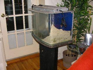 Salt Water 25 Gallons Custom Made Fish Tank with Light Pump