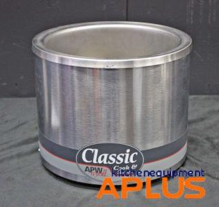 APW Wyott 11 Qt Classic Countertop Round Cooker Warmer RCW 11