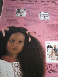 Annette Himstedt Fatou Doll Ad Barefoot Children