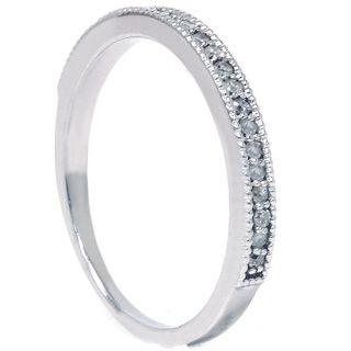 30ct Diamond Wedding Anniversary Ring 14k White Gold Engagement