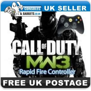 Modern Warfare 3 Official Arbiter 3 Drop Shot Rapid Fire Controller UK