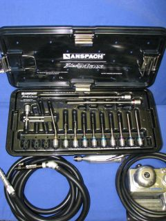 Anspach BlackMax Black Max Swivel Angle Motor Assembly Drill Set