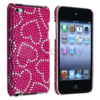 rhinestone case cover accessory for ipod touch 4th gen 4g 4 for apple