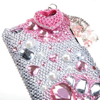 Pink Romance Regular 3D Bling case APPLE iPod touch 4th generation