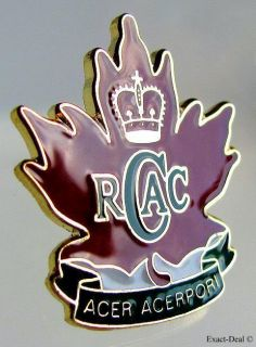 Canada Rcac Royal Canadian Army Cadets Gold Plated Pin