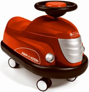 Radio Flyer 740 Classic Retro Cool Red Bumper Car