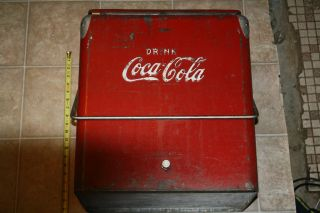 Vintage Coca Cola Cooler Temprite Arkansas City