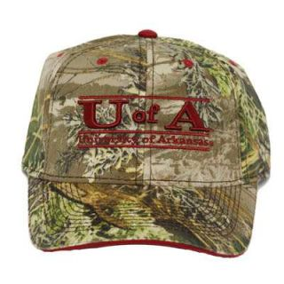 NCAA Arkansas Razorbacks Hogs Camo Camouflage Hat Cap