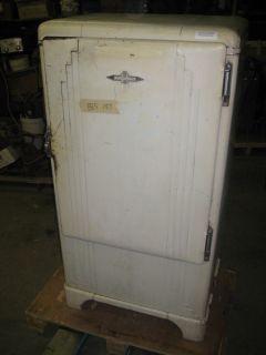 Vintage Antique Refrigerator Frigidaire 1938 38 Art Deco