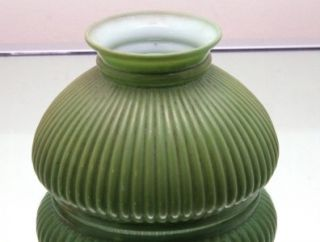 Vintage Student Lamp Student Desk Lamp Antique Green Glass Lamp Shade