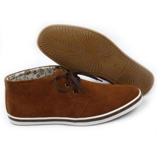 arider ar3001 men high top suede casual shoes camel description suede