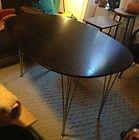 , original Danish mid century Arne Jacobsen table (1989) Fritz Hansen