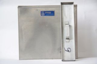 Arkay # 81 4 8 x 10 Stainless Steel Developing Tank with Lid