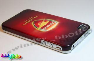 UEFA Champions League Arsenal Football Club iPhone 4S 4 Housing Cover