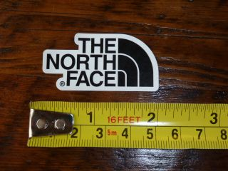 The North Face Clothing Sticker Decal New Tent Jacket