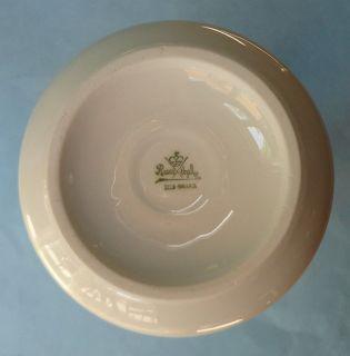 ART DECO Long White HORN Antique Porcelain Tall Experimental VASE 1920
