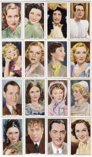 1939 Full Set of 48 Movie Cards Judy Garland Wizard of oz Errol Flynn