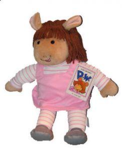 Classic 14 D w Arthurs Little Sister Plush Doll 1994 Fresh MNWT