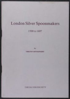 Antique English London Silver Spoon Spoonmaker Silversmiths 1500 1697