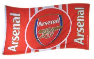 ARSENAL FC OFFICIAL TEAM FLAG FOOTBALL SOCCER CLUB GUNNERS EMIRATES