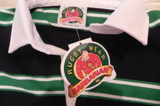 Ireland Irish Rugby Shirt NEW BARBARIAN LARGE