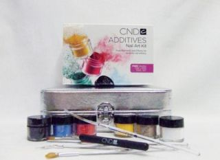 CND Creative Nail Additives Nail Art Kit for Acrylic Brisa Shellac Gel