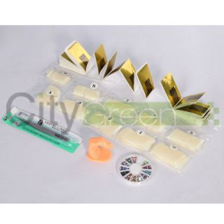 Pro UV Nail Art Kit Tool Acrylic Liquid Pump Dispenser Acrylic Powder