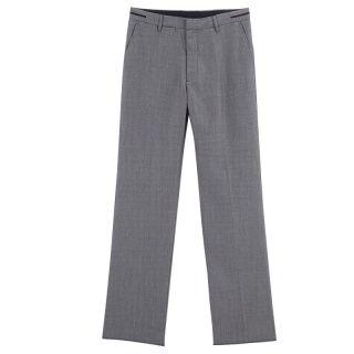 Mens Slim Fit Elegant Classical Flat Front Dress Pants 3 Colors
