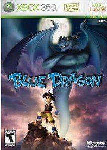 Xbox 360 RPG Game Blue Dragon Dragons Brand New Seal