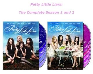 Pretty Little Liars The Complete First Second Season 1 2 DVD 11 Disc
