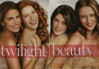 Ashley Greene Nikki Reed Twilight 6pg Glamour Feature