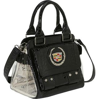 Ashley M Cadillac Faux Patent Leather Satchel 4 Colors