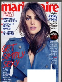 NOVEMBER 2012 TWILIGHT ASHLEY GREENE HILLARY CLINTON WOMEN ON TOP