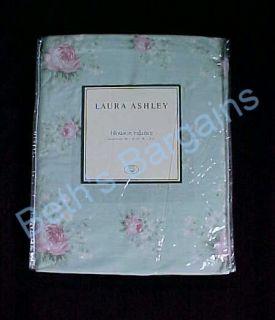 Laura Ashley Rosemore Green Pink ROSEMOOR Curtain Valance NIP