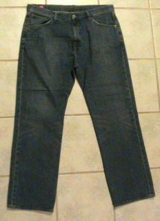Mens 38x32 Ralph Lauren Ashmore Blue Denim Jeans