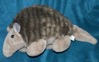 Adorable SOFT THINGS Plush Stuffed 15 HAPPY ARMADILLO Retired