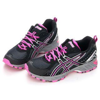 Asics Womens Gel ENDURO8 Running Shoes Neon Pink Asics Socks Gift G90