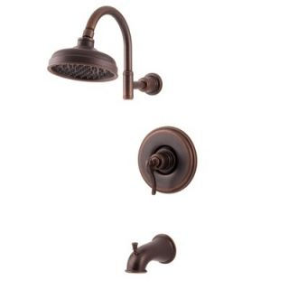 Pfister Ashfield Rustic Bronze Tub & Shower Trim + Valve R898YPU