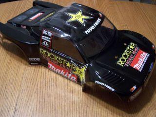 New Team Associated SC8E Body Rockstar Makita SC8 E