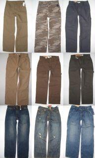 Boys Pants Jeans Size 10 12 16 18 New Organic Cotton