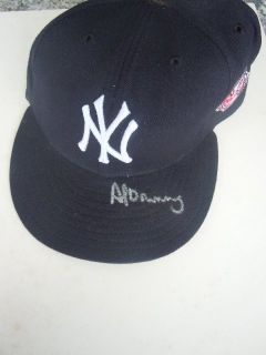 AL DOWING NEW YORK YANKEES SIGNED 100 TH ANNIVERSARY HAT COMES WITH