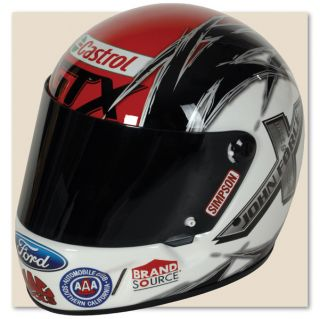 Ashley Force Castrol GTX Full Size Replica Helmet by Simpson Racing