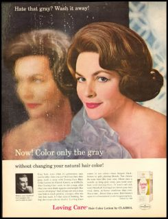 1963 Fashion Ad for Miss Clairol Loving Care 618